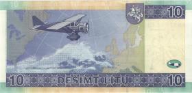 Litauen / Lithuania P.68 10 Litu 2007 (1)