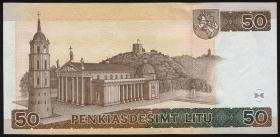 Litauen / Lithuania P.61 50 Litu 1998 (1)