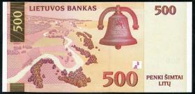 Litauen / Lithuania P.64 500 Litu 2000 (1)