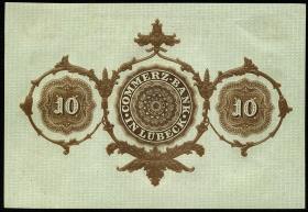 Lübeck 10 Taler 1865 (1)
