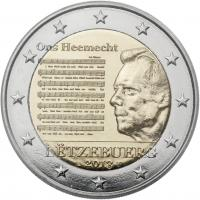 Luxemburg 2 Euro 2013 Nationalhymne Coincard