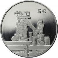 Luxemburg 5 Euro 2014 Stahl im Folder