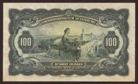 Luxemburg / Luxembourg P.39 100 Francs (1934) (2+)