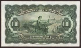 Luxemburg / Luxembourg P.39a 100 Francs (1934) (3)