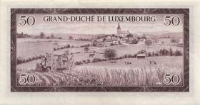 Luxemburg / Luxembourg P.51 50 Francs 1961 (2)