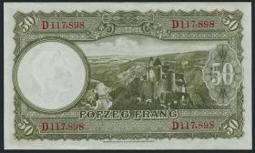Luxemburg / Luxembourg P.45 50 Francs (1944) (1)