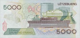 Luxemburg / Luxembourg P.60b 5000 Francs 1996 (1)