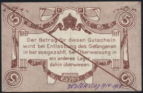 M.145-3 Kaiserliches Eisenbahn Betriebsamt Metz 5 Mark o.J. (2)