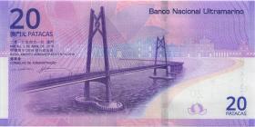 Macau / Macao P.neu 20 Patacas 2019 Nationalbank Ultramarino (1)