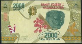 Madagaskar P.neu 2000 Ariary (2017) (1)