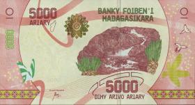 Madagaskar P.neu 5000 Ariary (2017) (1)