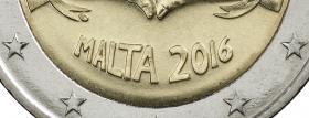 Malta 2 Euro 2016 Liebe durch Solidarität