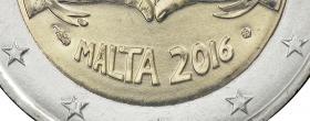 Malta 2 Euro 2016 Love Coincard