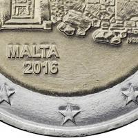 Malta 2 Euro 2016 Ggantija Tempel