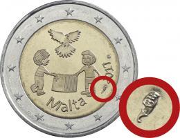 Malta 2 Euro 2017 Frieden Coincard