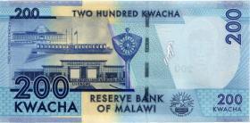 Malawi P.60c 200 Kwacha 2016 (1)