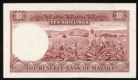 Malawi P.02A 10 Shillings 1964 (1)