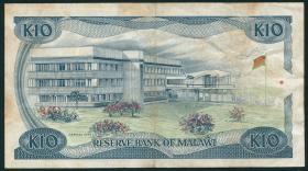 Malawi P.21b 10 Kwacha 1988 (3)