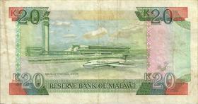 Malawi P.26 20 Kwacha 1990 (3)
