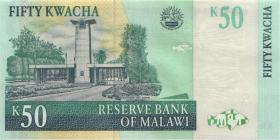 Malawi P.45b 50 Kwacha 2003 (1)