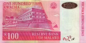 Malawi P.54d 100 Kwacha 2009 (1)