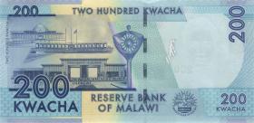 Malawi P.60d 200 Kwacha 2017 (1)