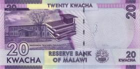 Malawi P.63d 20 Kwacha 2017 (1)