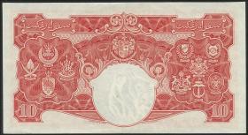 Malaya P.13 10 Dollars 1941 (1945) (2+)