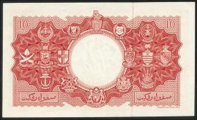 Malaya & British Borneo P.03a 10 Dollars 1953 (1)