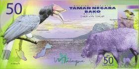Malaysia 50 Ringgit Bako National Park (1)