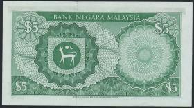 Malaysia P.02 5 Ringgit (1967-72) (1/1-)
