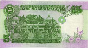 Malaysia P.28b 5 Ringgit (1989) (1)