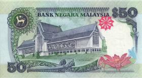 Malaysia P.31D 50 Ringgit (1987) (1-)