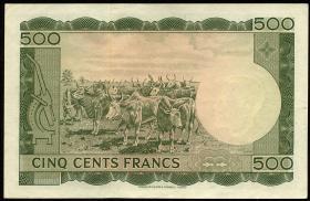 Mali P.08 500 Francs 1960 (1-)