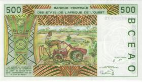 West-Afr.Staaten/West African States P.410Dn 500 Francs 2003 (1) Mali