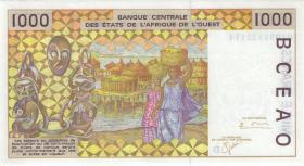 West-Afr.Staaten/West African States P.411Dk 1000 Francs 2001 (1) Mali
