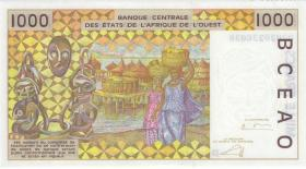 West-Afr.Staaten/West African States P.411Dm 1000 Francs 2003 (1) Mali