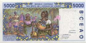 Mali P.413Da 5000 Francs 1992 (1)
