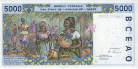 West-Afr.Staaten/West African States P.413Db 5000 Francs 1994 (1) Mali