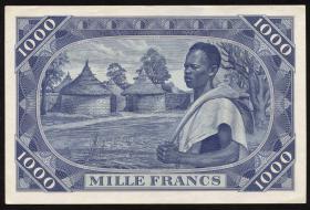 Mali P.04 1000 Francs 1960 (1/1-)