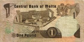 Malta P.34a 1 Lira 1967 (1979) (3)
