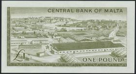 Malta P.29 1 Pound 1967 (1)