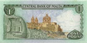 Malta P.31d 1 Lira 1967 (1973) (1)
