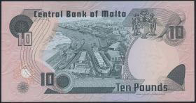 Malta P.36b 10 Liri 1967 (1979) (1)