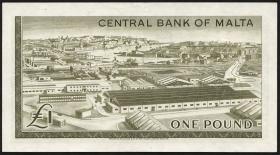 Malta P.29 1 Pound 1967 (2)