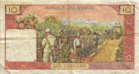 Marokko / Morocco P.54c 10 Dirhams 1965 (3)