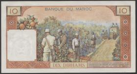 Marokko / Morocco P.54d 10 Dirhams 1968 (1)