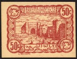 Marokko / Morocco P.41 50 Centimes 1944 (1)