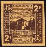 Marokko / Morocco P.43 2 Francs 1944 (1/1-)