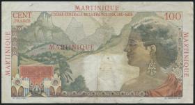 Martinique P.31 100 Francs (1947-49) (3)